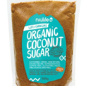 Coconut Sugar - Certified Organic 500g Pouch