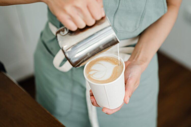 How to froth milk for coffee